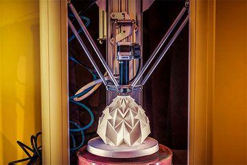An diesem 3D-Drucker dürfen sich alle Workshop-TeilnehmerInnen ausprobieren.