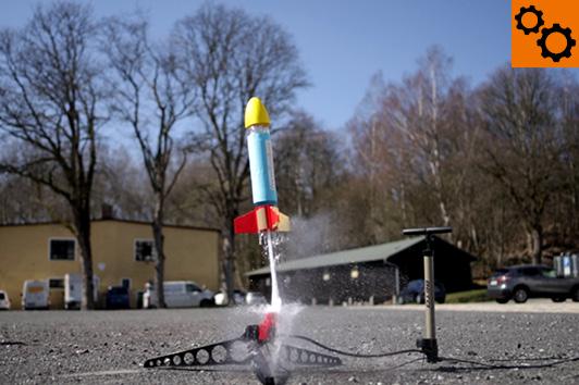 Angehende Raketeningenieure können sich hier beweisen! ©Porzellanikon