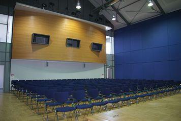 Auditorium v Porzellanikonu Selb