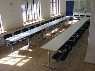 One of the two conference rooms. ©Porzellanikon