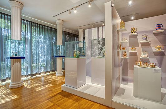 Blick in den Ausstellung am Standort Hohenberg a.d. Eger