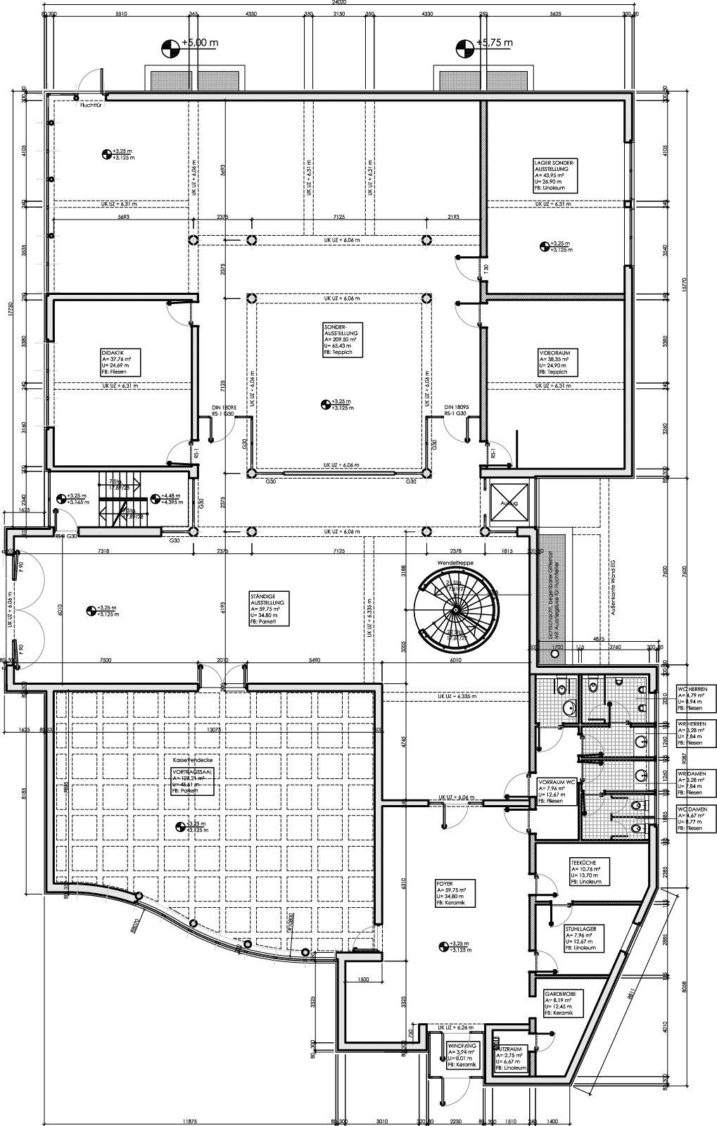 Museum Foyer Grundriss : Porzellanikon veranstaltungssaal hohenberg an der eger