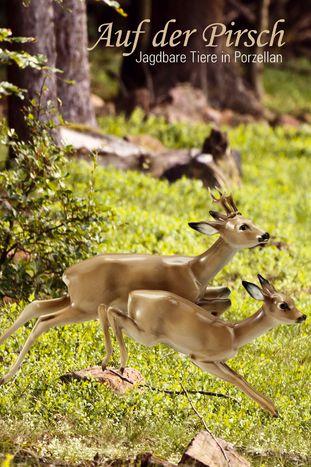 Auf der Pirsch - Jagdbare Tiere in Porzellan