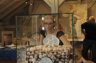 Luisa Michael, Mitarbeiterin für Ausstellungsgestaltung im Porzellanikon