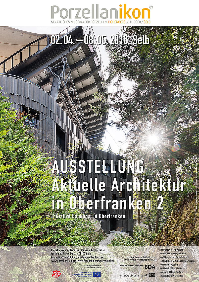 Porzellanikon aktuelle architektur in oberfranken 2 for Aktuelle architektur